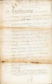 documents mariage document contrat de mariage de michel chartier de lotbinière et