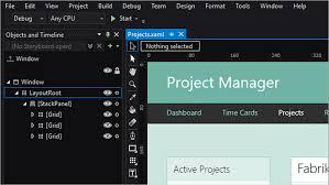 design web form in visual studio 2010 windows presentation foundation wpf net visual studio