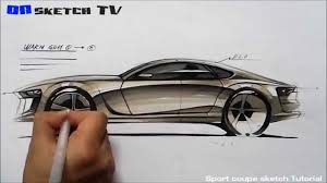 온스케치 tv car sketch tutorial