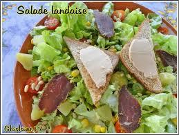 cuisine landaise salade landaise ghislaine cuisine