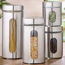 kitchen canisters and jars glass storage jars sets of 2 storage containers modern