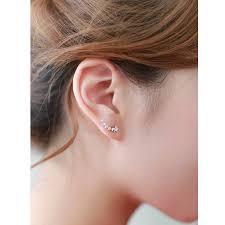 stud ear shooting stud earrings by dose of notonthehighstreet