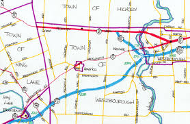 Adrian Michigan Map by The Map Realm
