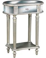 Silver Accent Table Amazing Deal On Pulaski Convex Accent Table In Gold