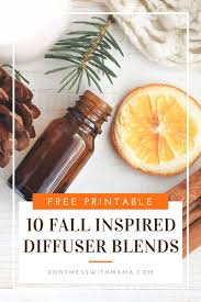 fall scents 10 fall essential oil diffuser recipes free printable don t