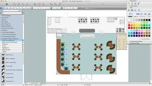 house plan restaurant floorplans software design floor impressive