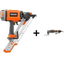 ridgid 3 1 2 in 15 degree clipped head framing nailer and