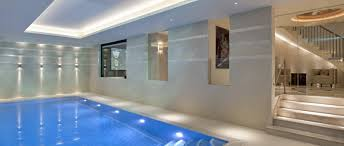 want a luxury indoor swimming pool