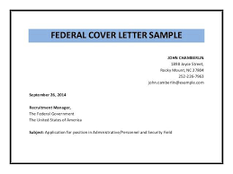 federal cover letter federal government cover letter linux