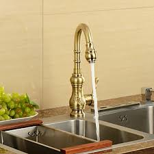 antique inspired kitchen faucet antique bronze finish