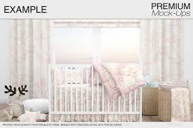 Practical Bedding Set Baby Room U0026 Crib Bedding Set By Mock Ups Graphicriver