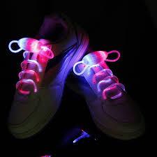 rainbow light up shoes multi color neon led shoe laces shoes strap glow stick light
