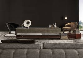 contemporary sideboard marble wood veneer by rodolfo dordoni
