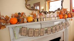 decorations country style thanksgiving mantel decoration feature