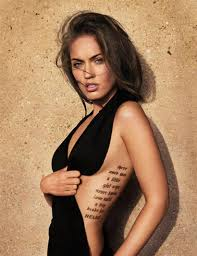 megan fox meanings and photos