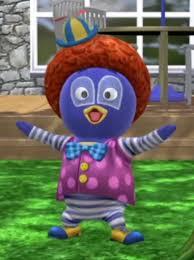 image disguise clown jpg backyardigans wiki fandom