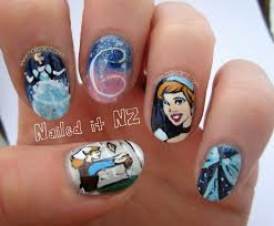 cinderella nail art have courage be kind youtube cinderella nail