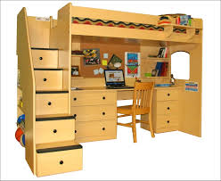 home design solid wood frame l shape bunk beds with stairs