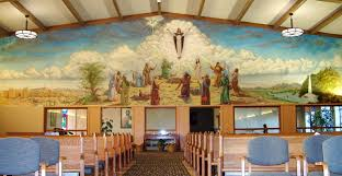 28 church wall murals farmers heart in an urban setting church wall murals handmade wall mural at ascension catholic church portland