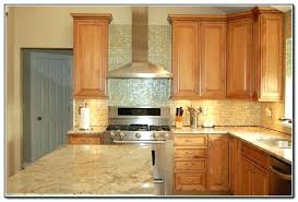 Oak Kitchen Cabinets And Wall Color Honey Oak Kitchen Cabinets Wall Color Faced