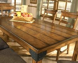Rustic Dining Tables With Benches Dining Table Simple Dining Farmhouse Kitchen Tables Image Of