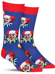 balloons for men free balloons scary clown socks for men