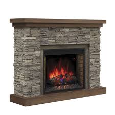 shop chimney free 54 in w 5 200 btu cappuccino brown ash wood