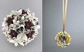 paper flower pomander diy wedding bouquet newspaper flowers the