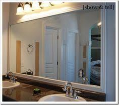 mirror trim for bathroom mirrors diy tutorial diy home diy cheap bathroom mirror frame