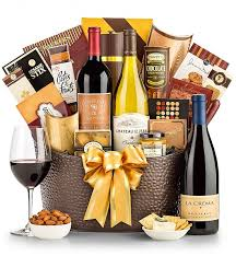 wine gift baskets delivered california signature wine gift basket
