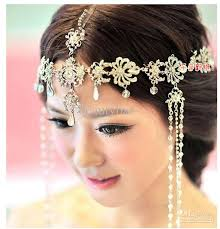 hair ornaments wedding bridal hair accessories headdress frontlet forehead