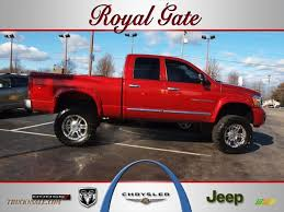 2006 dodge ram 2500 laramie quad cab 4x4 in inferno red crystal