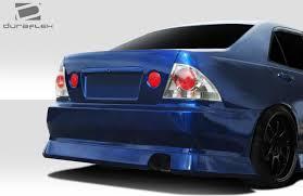 lexus rear bumper 2000 2005 lexus is series is300 duraflex b sport rear bumper cover