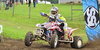 ama motocross registration joel hetrick leads the ama pro atv field into redbud atvmx