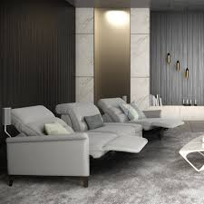 Home Theater Sectional Sofas Remus Home Theater Sectional Sofa Rom Belgium Neo Furniture