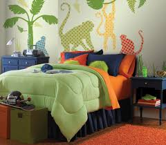 Monkey Bedding Inspired Wallpopsin Kids Traditional With Stunning Next To