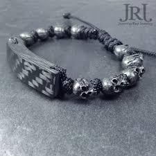 bracelet skull images Murdered out skull carbon fiber jennifer ray jewelry jpg