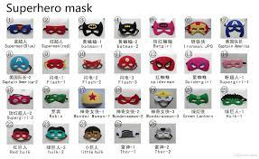party america halloween children halloween costume party mask superhero mask superman
