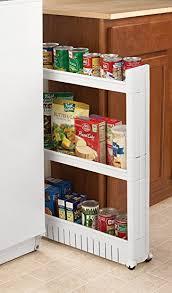 Amazoncom Rolling Slide Out Kitchen Storage Tower Home  Kitchen - Slide out kitchen cabinets