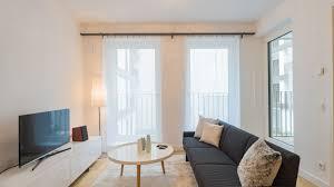 stylish 2 room apartment krausenstrasse 3 1 6 white apartments