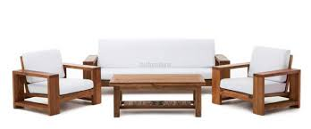 sofa set teak wood sofa set designs centerfieldbar