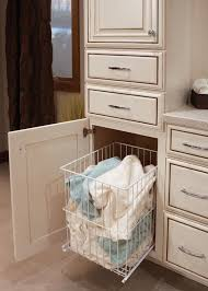 Bathroom Cabinet With Built In Laundry Hamper 25 Best Get Organized Images On Pinterest Base Cabinets