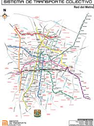 New York is it safe to travel to mexico images Mexico city subway map better transit than any north american jpg
