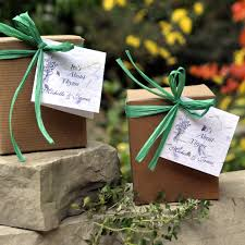 fall wedding favor ideas fall wedding favor ideas plant a memory favors gifts