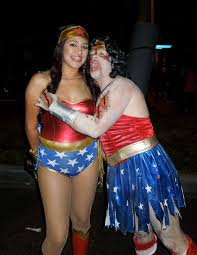 zombie wonder woman ravages west hollywood u0027s halloween carnaval