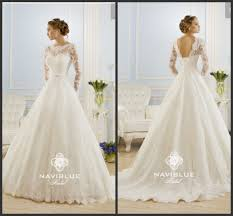 2014 new arrival high neck and low back lace appliques wedding