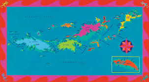 Map Of The Virgin Islands The Virgin Islands Us And British