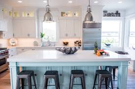blue kitchen cabinets with copper hardware white kitchen cabinets 6 versatile designs and styles you