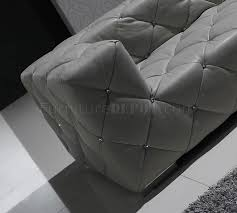 italian leather sofa sectional full italian leather modern sectional sofa w crystals