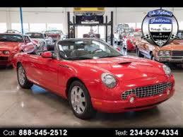 2002 Ford Thunderbird Premium Stock by Used Ford Thunderbird For Sale In North Canton Oh 44799